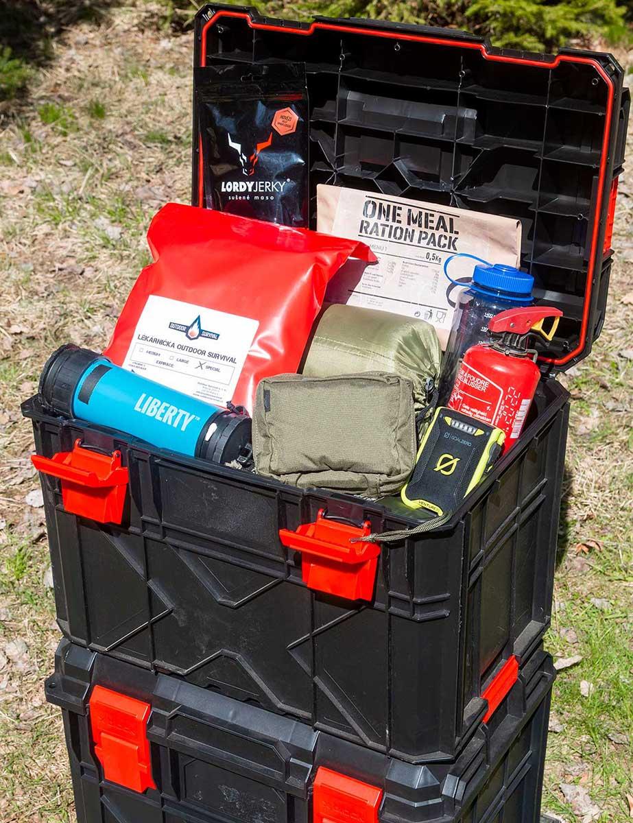 Outdoor Survival   Amar Ibrahim - Rodinny Zachranny box