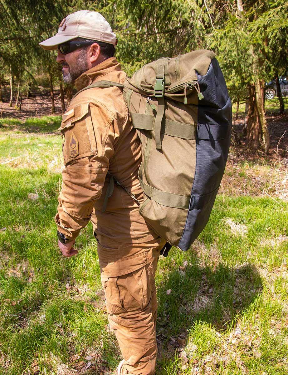 Outdoor Survival | Amar Ibrahim - evakuační zavazadlo